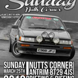 Sideways Sunday at Nutts Corner
