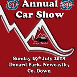 Mourne Mini Club Annual Car Show