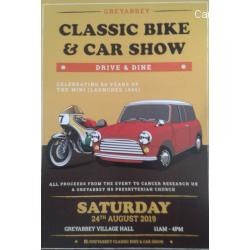 Greyabbey Classic Bike and Car Show