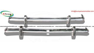 Ford Cortina MK2 bumper kit (1966-1970) stainless steel
