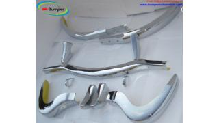 Mercedes 300SL bumper (1957-1963) in stainless steel