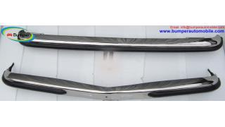 Mercedes W123 Sedan bumper kit (1976 – 1985) stainless steel