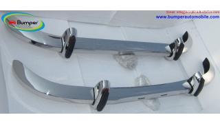 Saab 96 bumper ( 1965 – 1970 ) by stainless steel