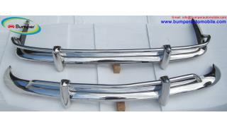 VW Karmann Ghia US bumper kit (1955 – 1966) stainless steel